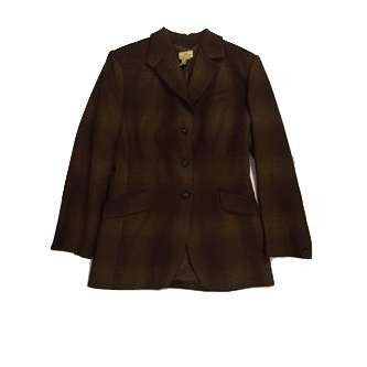 FoxHuntingShop.com-Used Limited America Tweed Jacket 19347 - Brown