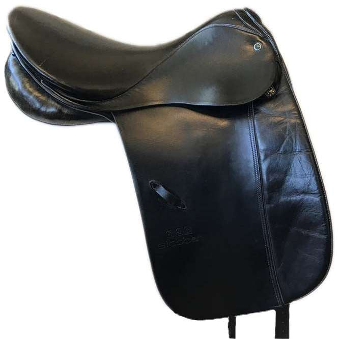 Used Stubben Tristan Dressage Saddle 18""