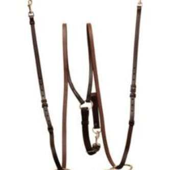FoxHuntingShop.com-Vienna Triangle Side Reins