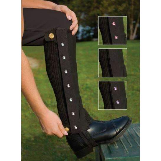 FoxHuntingShop.com-Children's Bling Half Chaps