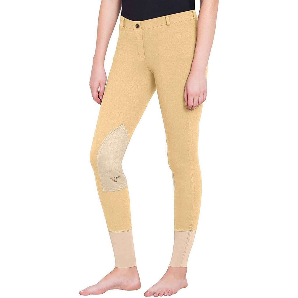 FoxHuntingShop.com-Ladies Pull-on Knee Patch Breech