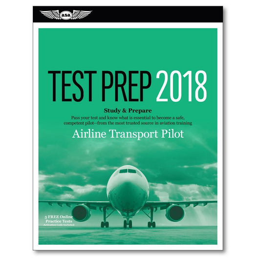 Libro ATP: Airline Transport Pilot Test Prep
