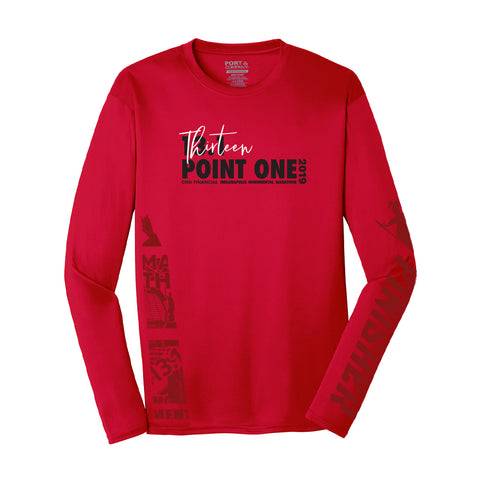 2019 - 13.1 Finisher Long Sleeve Runner's Shirt