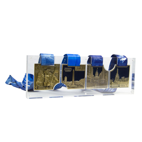 4-Year Medal Series Horizontal Display Case