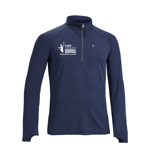 2019 Men's Half Zip Run Away Top w/ Thumb Holes