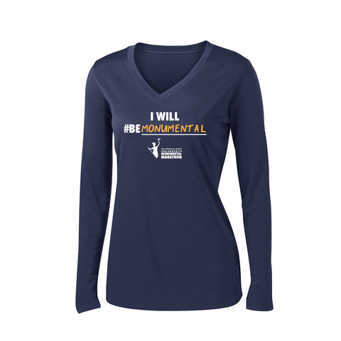 Ladies 2018 CNO Financial Monumental IN Training Long Sleeve Shirt