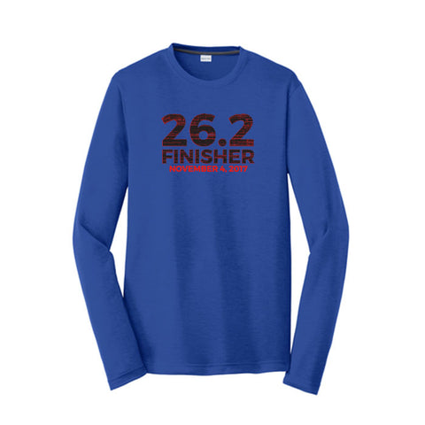 2017 Full Marathon Finisher Performance Tee