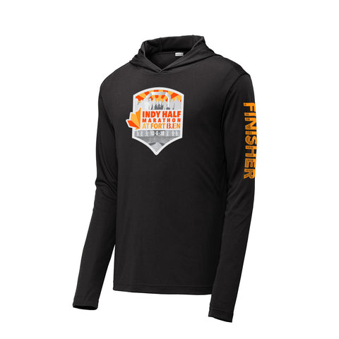 2018 Indy Half FINISHER Tech Hooded Pullover