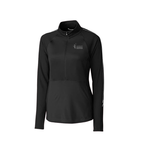 Ladies' Cutter & Buck DryTec Sport 3/4-Zip (XL & 2XL available)