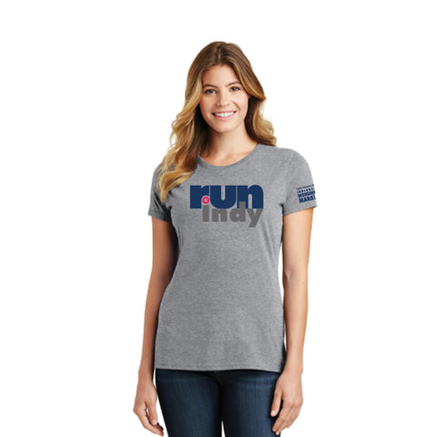 Ladies' Triblend Run Indy Tee
