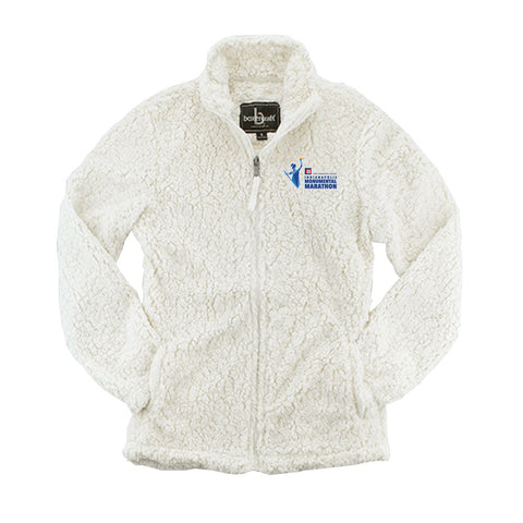 Ladies Sherpa Full Zip