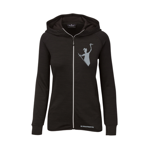 Ladies Parkside Knit Hoodie Full Zip