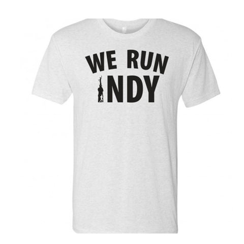 Mens We Run Indy Soft Style Tee