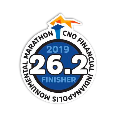 2019 Full Marathon Finisher Sticker