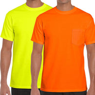 Gildan 2300, High Visibility T-Shirts, Front View