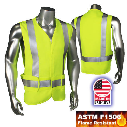 Radians, FR Class 2 Adjustable Modacrylic Vest, 3M Reflective [LHV-UTL]