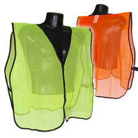 Radians, Non Rated Mesh Safety Vest Without Tape / One-Size [SV]