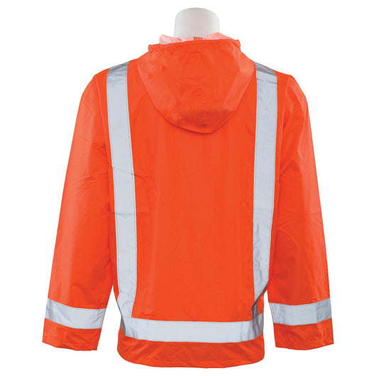Class 3 Rain Jacket with Hood 61495 S373
