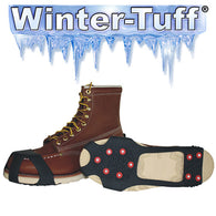 Tingley Pull-On Ice Traction Cleats - Black - Studded Outsole [1150]