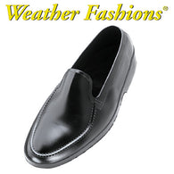 Tingley, Moccasin Rubber Dress Overshoes - Black [1900]