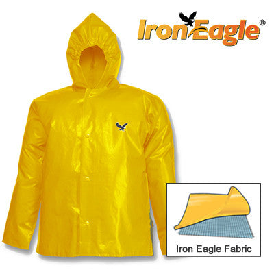 Tingley, Iron Eagle® Gold Jacket - Storm Fly Front - Attached Hood [J22107]
