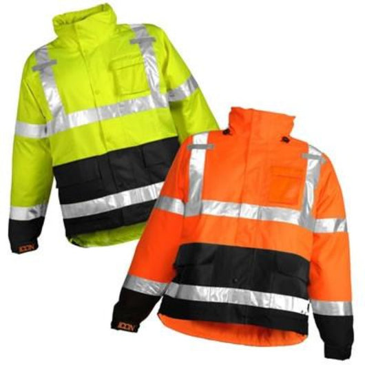 Tingley J24122 & J24129 Premium Class 3 High Visibility Jackets, Front View