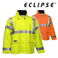 Tingley J44122 & J44129, Eclipse Flame/Arc Resistant High Visibility Rain Jackets