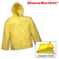 Tingley, DuraScrim™ Yellow Jacket w / Storm Fly & Attached Hood [J56107]