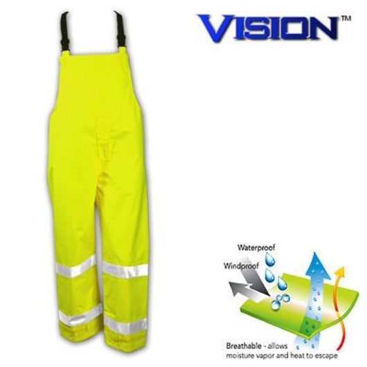 Tingley, Vision™ Waterproof Class E High Visibility Overalls [O23122]