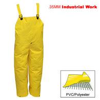 Tingley, .35mm Industrial Work, Fly Front Yellow Overall [O53107]