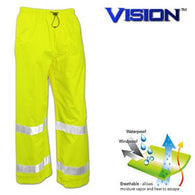 Tingley, Vision™ Waterproof Class E High Visibility Pants w/Storm Fly [P23122]