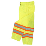 Radians SP61-EPGS Class E Surveyor Safety Pants, Safety Green