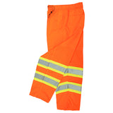 Radians SP61-EPOS Class E Surveyor Safety Pants, Safety Orange