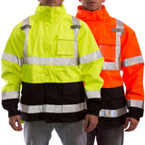 Tingley J24122 & J24129 Premium Class 3 High Visibility Jackets, Front View Alt