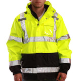 Tingley J24172 Class 3 High Visibility Outerwear System Jacket, Front View