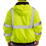 Tingley J26112 Class 3 High Visibility Winter Jacket, Back View