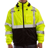 Tingley J26112 Class 3 High Visibility Winter Jacket, Front View