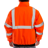 Tingley J26119 Class 3 High Visibility Winter Jacket, Back View