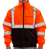 Tingley J26119 Class 3 High Visibility Winter Jacket, Front View