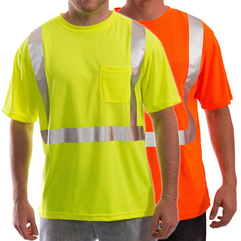 Tingley, High Visibility Moisture Wicking T-Shirt, Class 2 [S75022 & S75029]