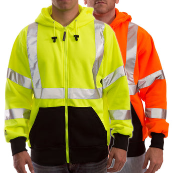 Tingley, Class 3 Hooded High Visibility Sweatshirt [S78122 & S78129]