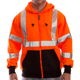 Tingley S78129 Class 3 High Visibility Sweatshirts, Front View
