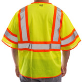 Tingley, Two-Tone, Mesh & Zipper, Class 3 Safety Vest [V70332]