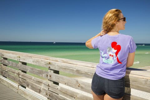 Panama City Beach Mermaid - Adult Short Sleeve