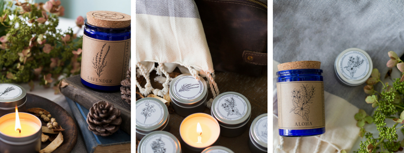Wandering Lark Candles
