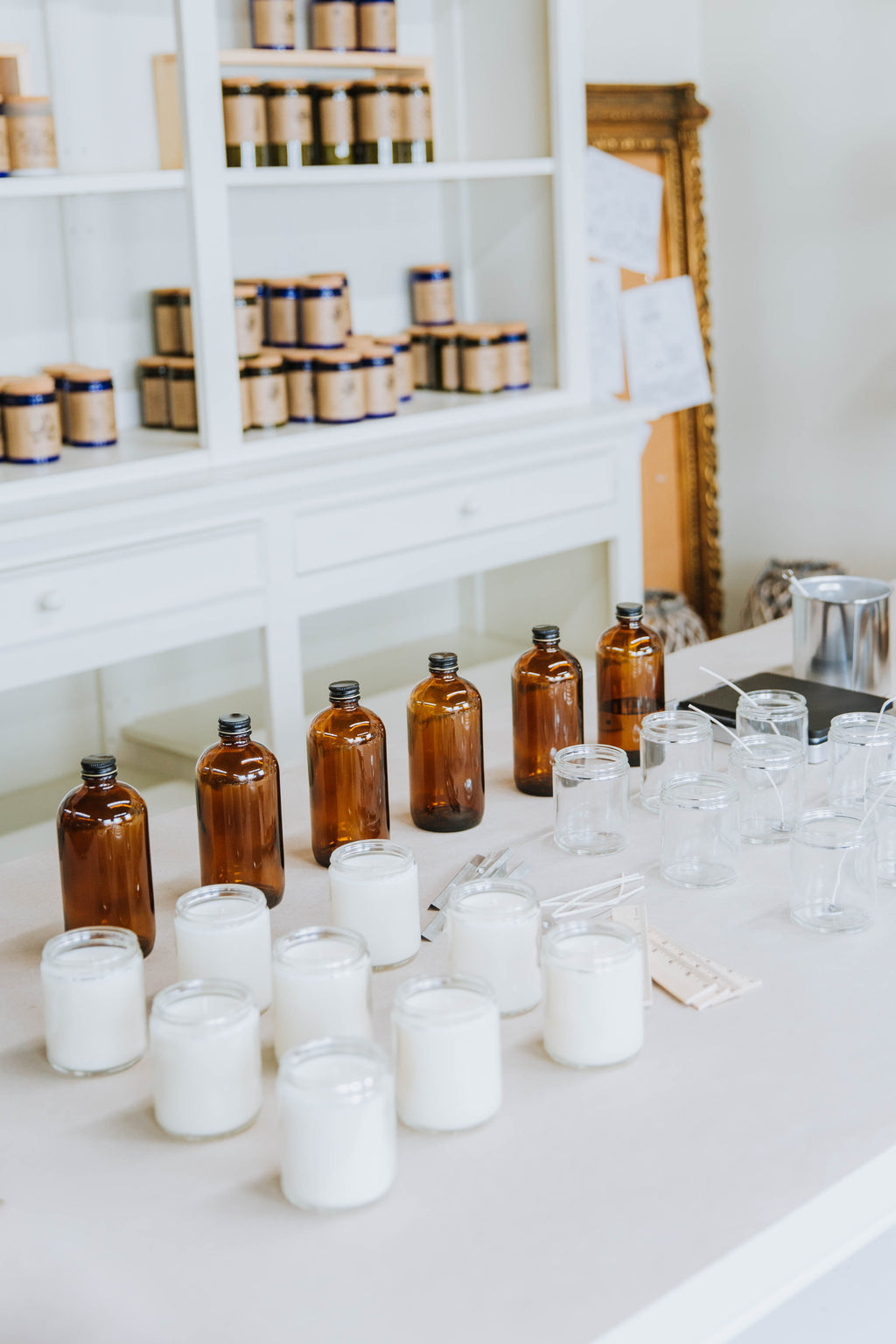 Candle Making Workshop -- Private:  Elevation Realty