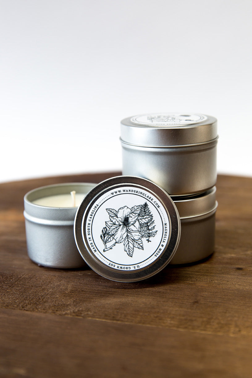 Magnolia & Moss Travel Tin