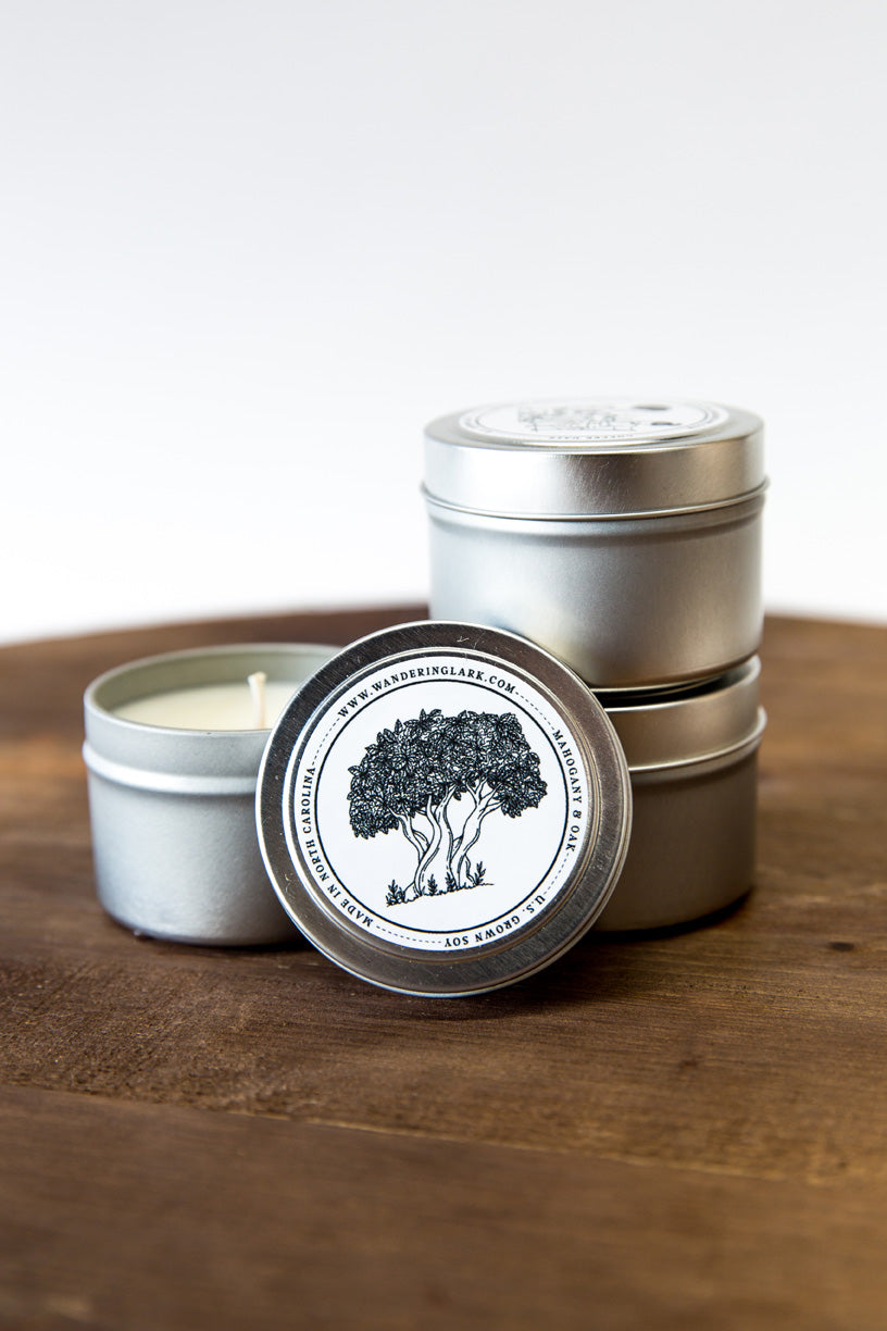 Mahogany & Oak Travel Tin