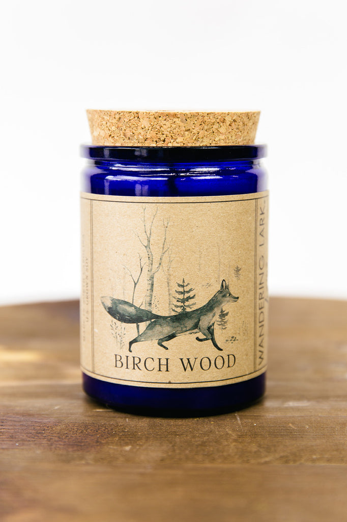 Birch Wood Soy Candle