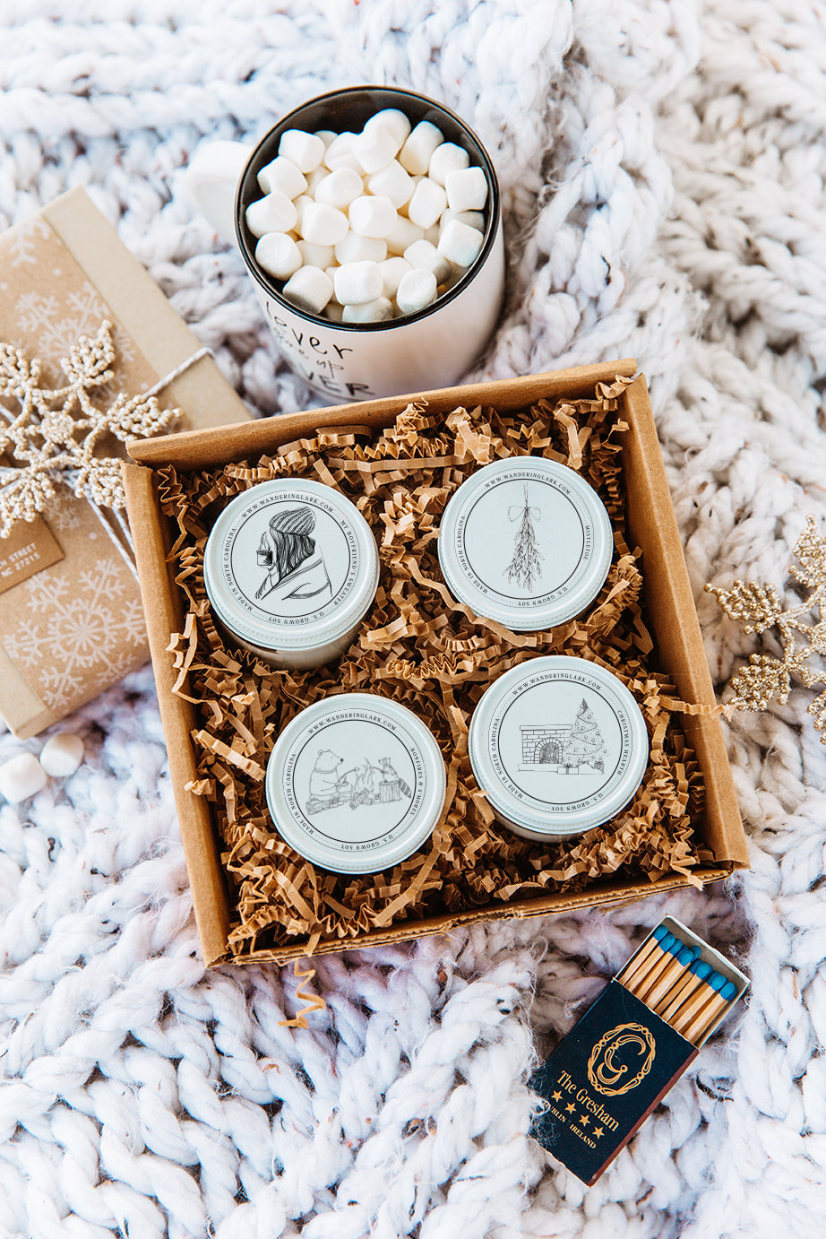 Cozy Christmas Sample Box